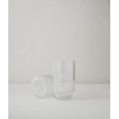 Lyngby Porcelæn Vase Klar Glas,12,5 cm