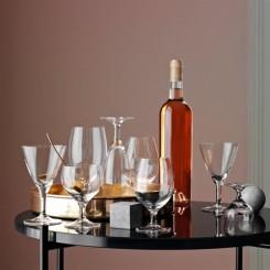 Holmegaard royal gaveæske m. 7 glas