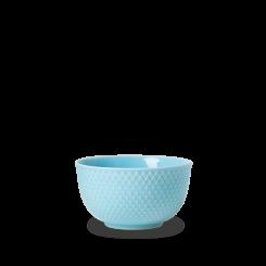 Lyngby Porcelæn Rhombe Color Skål turkis Ø11 cm