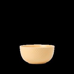 Lyngby Porcelæn Rhombe Color Skål sand Ø13 cm