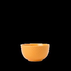Lyngby Porcelæn Rhombe Color Skål gul Ø11 cm