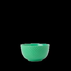 Lyngby Porcelæn Rhombe Color Skål grøn Ø11 cm