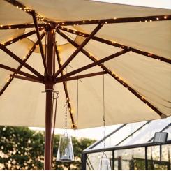 Sirius Knirke Solar Parasol LED Lyskæde