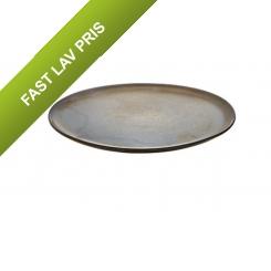 Aida RAW Metallic Brown - frokosttallerken 1 stk