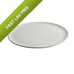 Aida RAW Arctic White - middagstallerken 1 stk