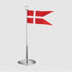 Georg Jensen Bernadotte fødselsdagsflag rustfrit stål