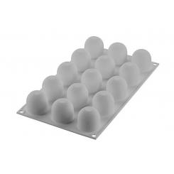 Silikomart mini flødebolle silikonform 15 stk