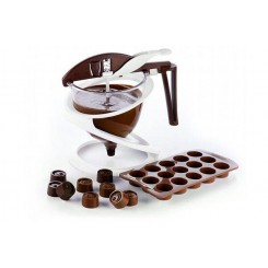 Silikomart Chokolade Dispenser Funnel Choc