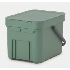 Brabantia sortering affaldsspand 6 ltr grøn