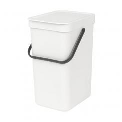 Brabantia sortering affaldsspand 12 ltr hvid