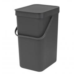 Brabantia sortering affaldsspand 12 ltr grå