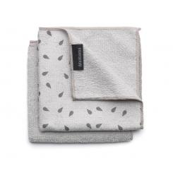 Brabantia – Mikrofiber opvaske klude 2 stk. – Light Grey