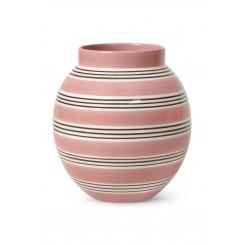 Kähler Omaggio Nuovo Vase H20,5 cm, Støvet Rosa