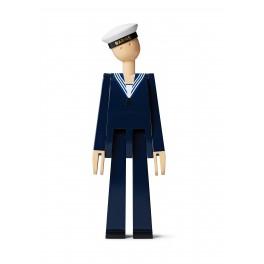 Kay Bojesen Marine, Mørk blå/hvid