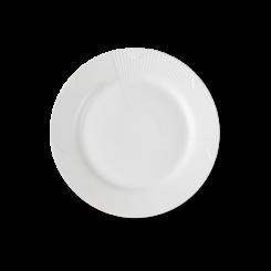 Royal Copenhagen Hvid Elements frokost tallerken 22 cm